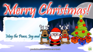 Christmas Greeting Card, Santa Claus card, Merry Christmas Card (VERY FUNNY)