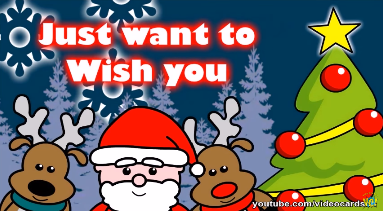 Christmas Greeting Cards, Wish You Merry Christmas (VERY FUNNY)