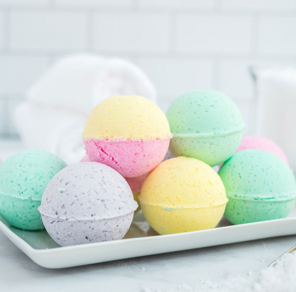 Mother's Day Gift Ideas, bath-bombs
