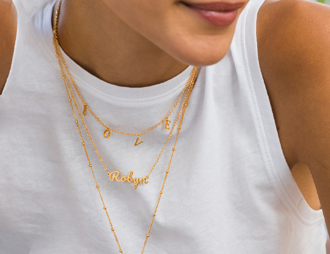 Mother's Day Gift Ideas, personalized necklace